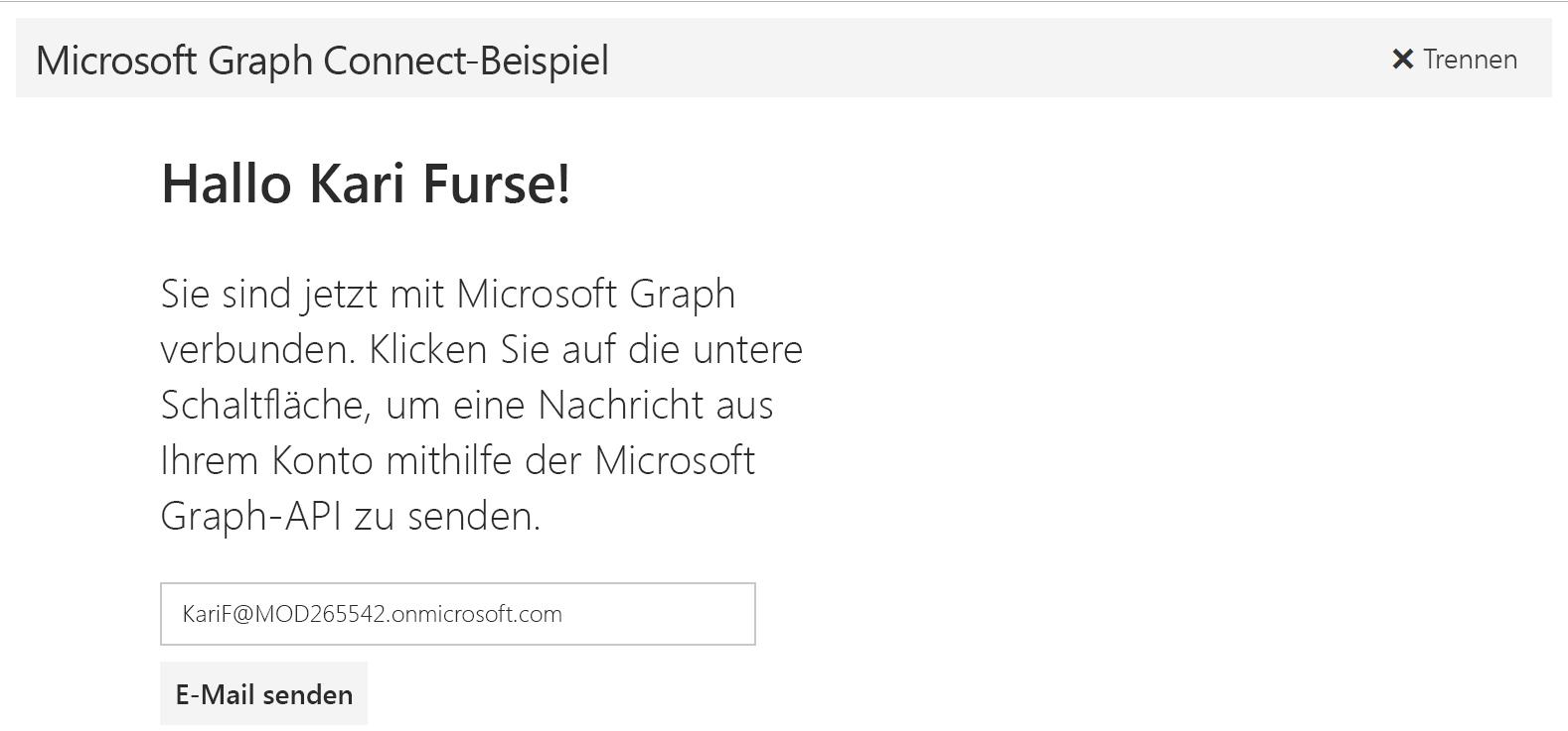 Angular - Dokumentation - Microsoft Graph
