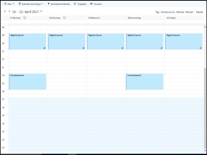 Besprechungszeiten suchen - Dokumentation - Microsoft Graph