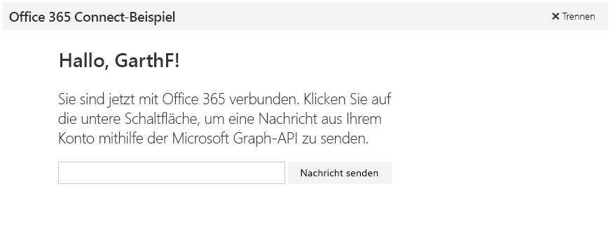 Node.js - Dokumentation - Microsoft Graph