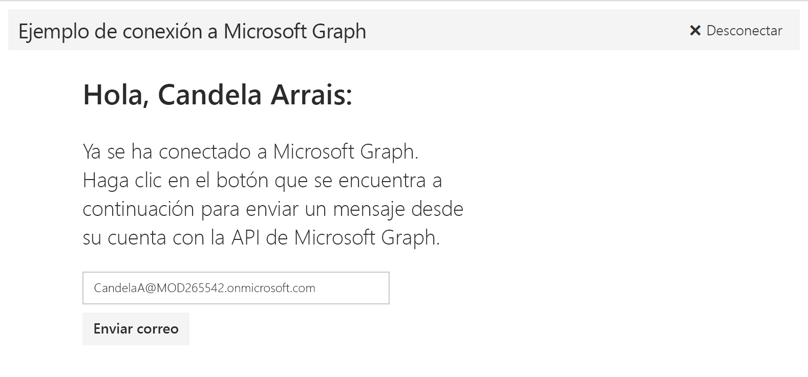 Angular - Documentación - Microsoft Graph