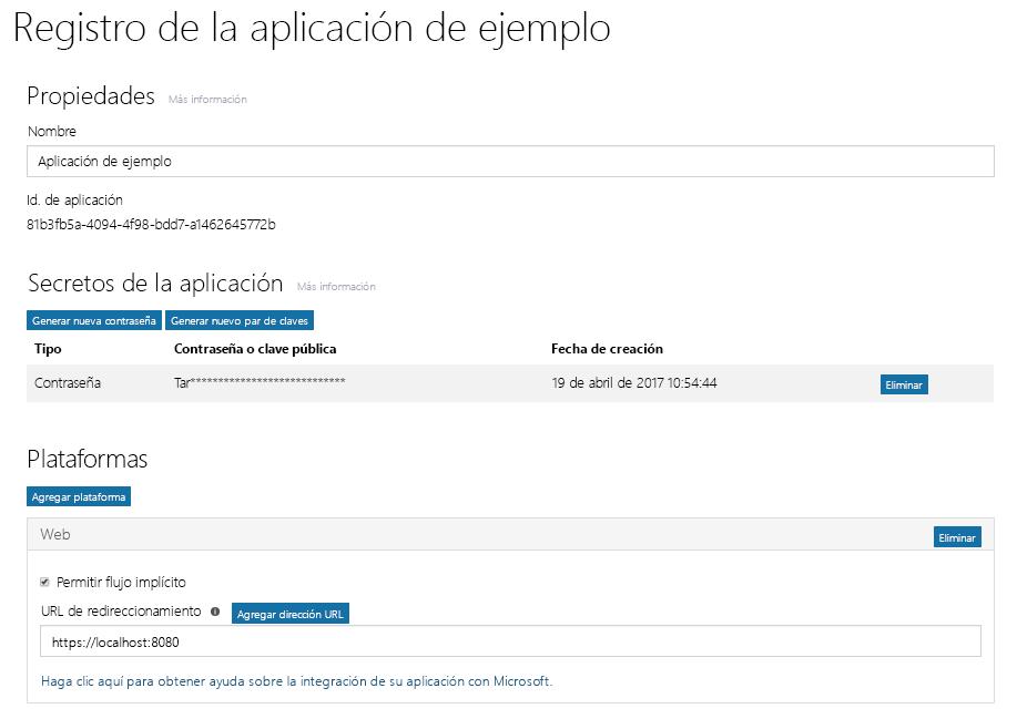 Obtener acceso en nombre de un usuario - Documentación - Microsoft Graph