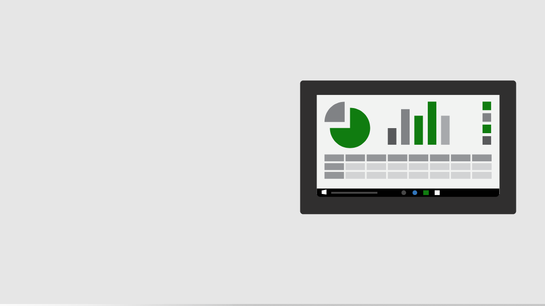 build smarter apps with Excel
