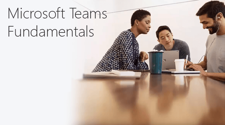 Screen capture taken from Fundamentals of Microsoft Teams video