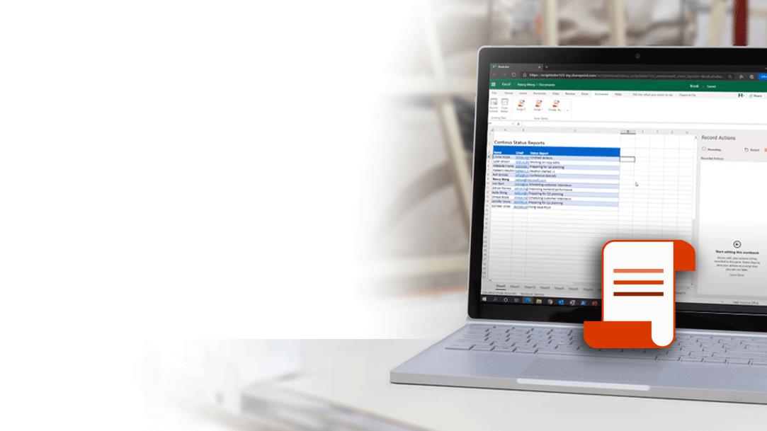 автоматизация с помощью сценариев Office для Excel в Интернете