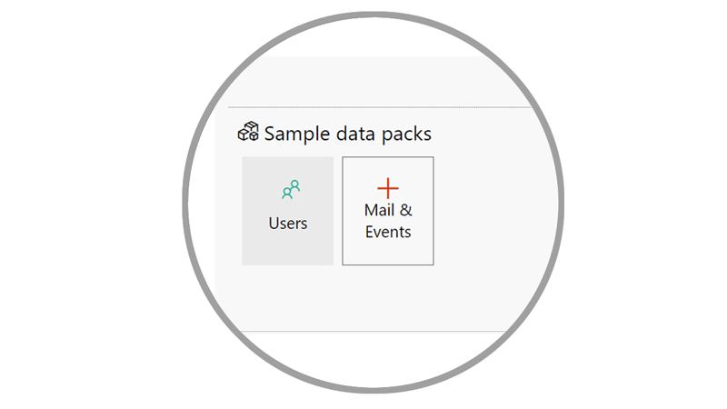 sample data pack