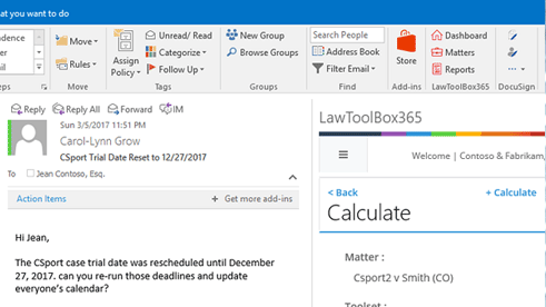 Image containing use case for LawToolBox365