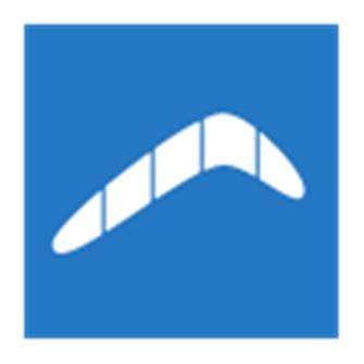 Logotipo de Boomerang